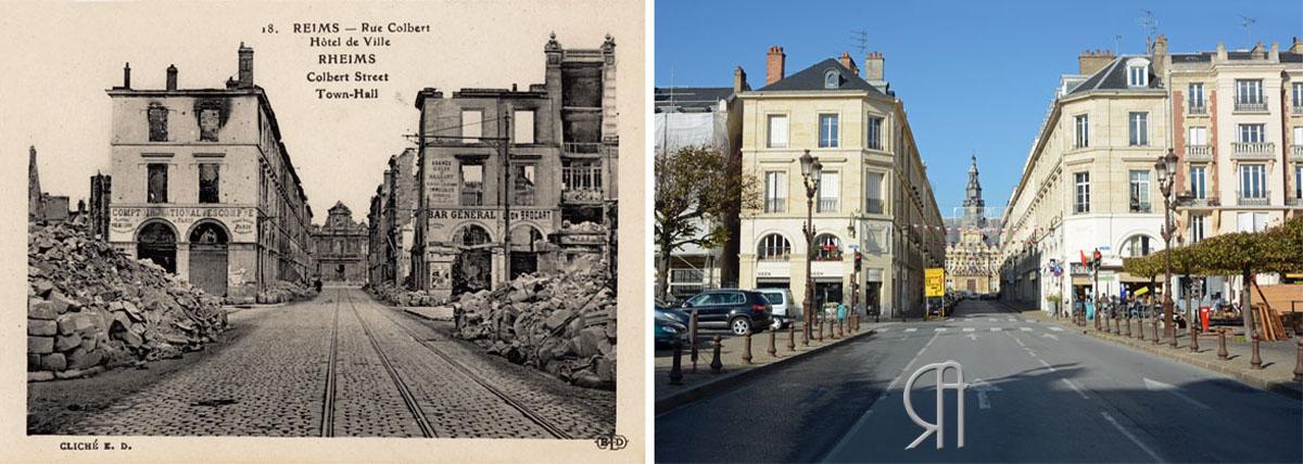 Rue Colbert - Hôtel de Ville