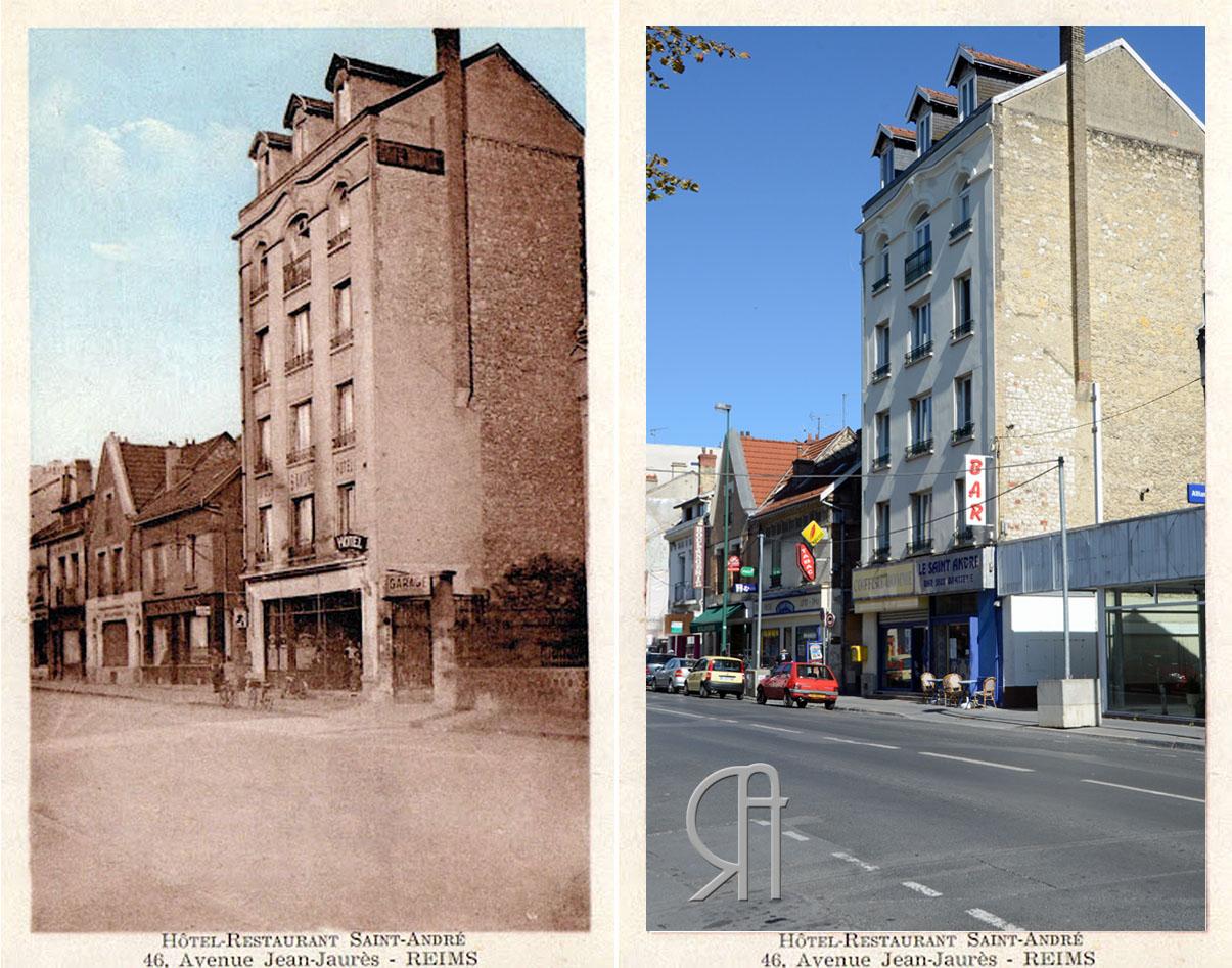 """Hôtel-Restaurant """"Saint-André"""" 46 avenue Jean-Jaurès"""
