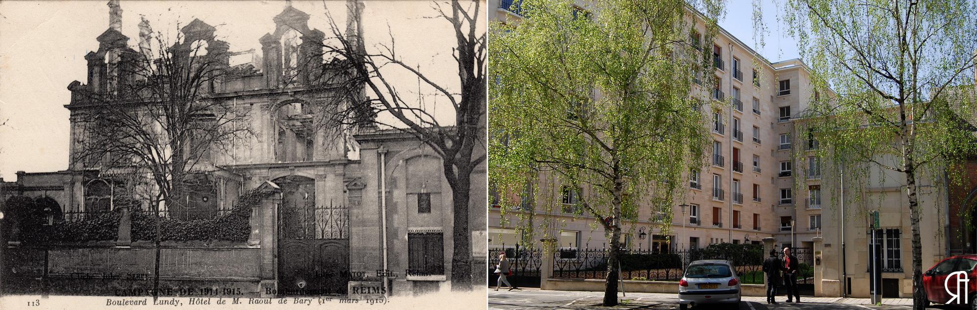 Boulevard Lundy, l'hôtel particulier de M. Raoul de Bary