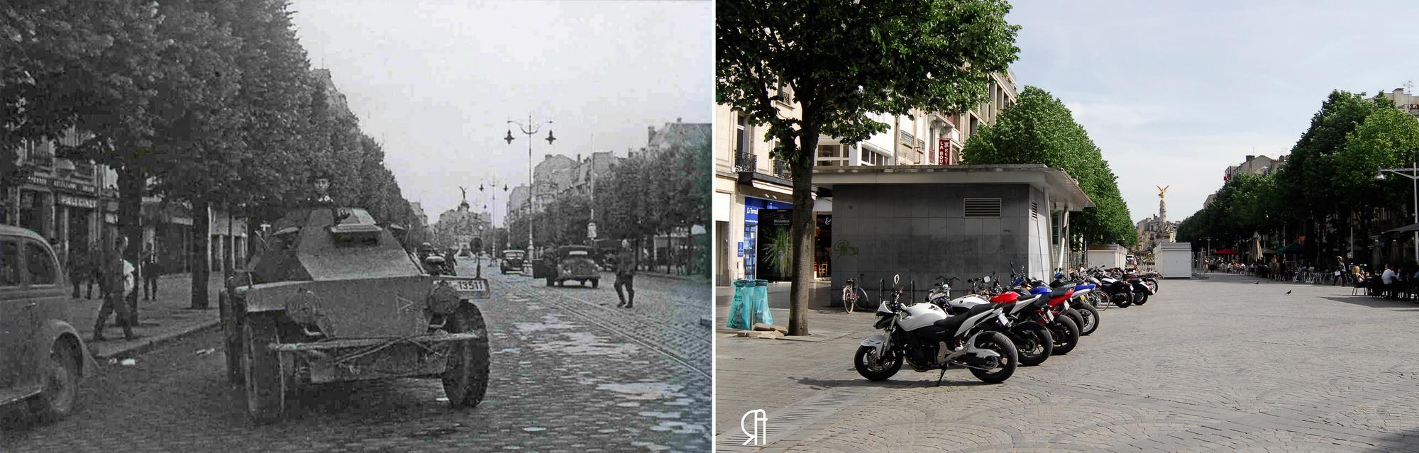 12-13 juin 1940, place d'Erlon