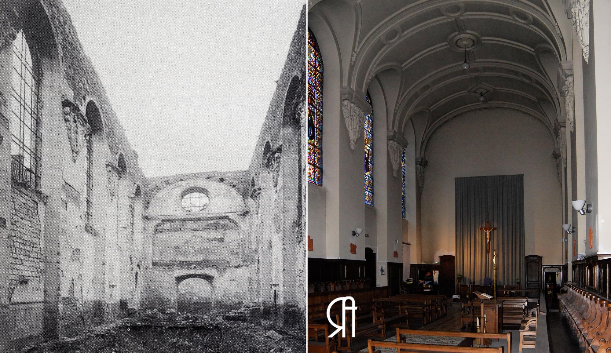 La Grande Guerre et la Reconstruction de la chapelle de l'institution Notre-Dame