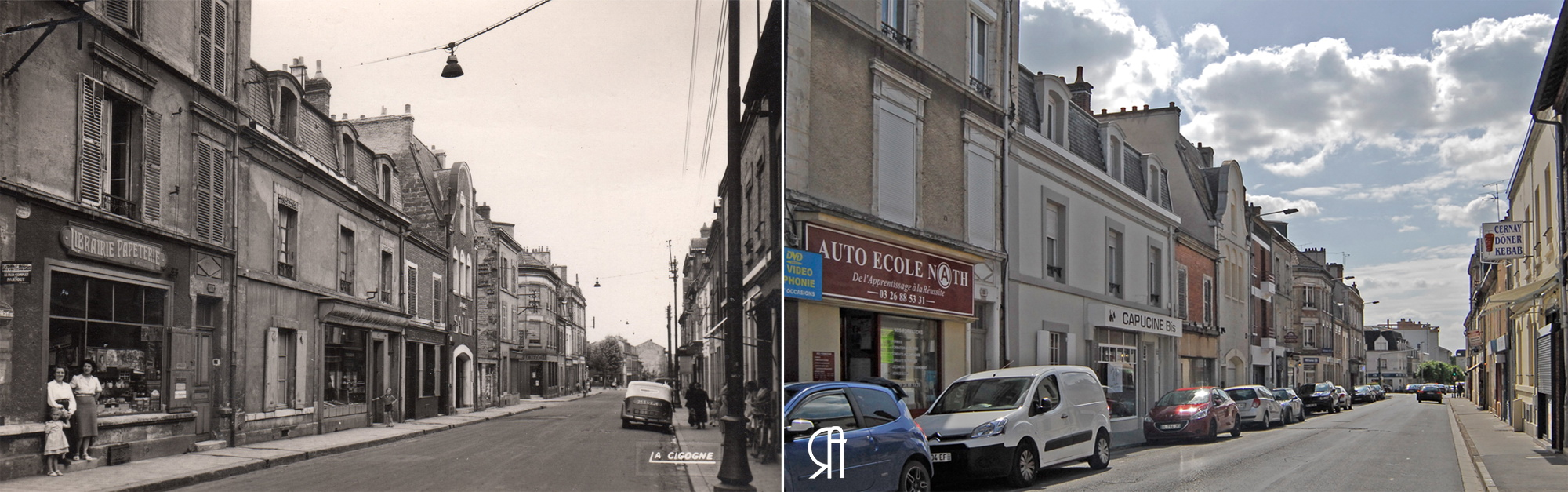 La rue de Cernay, années 50 ?