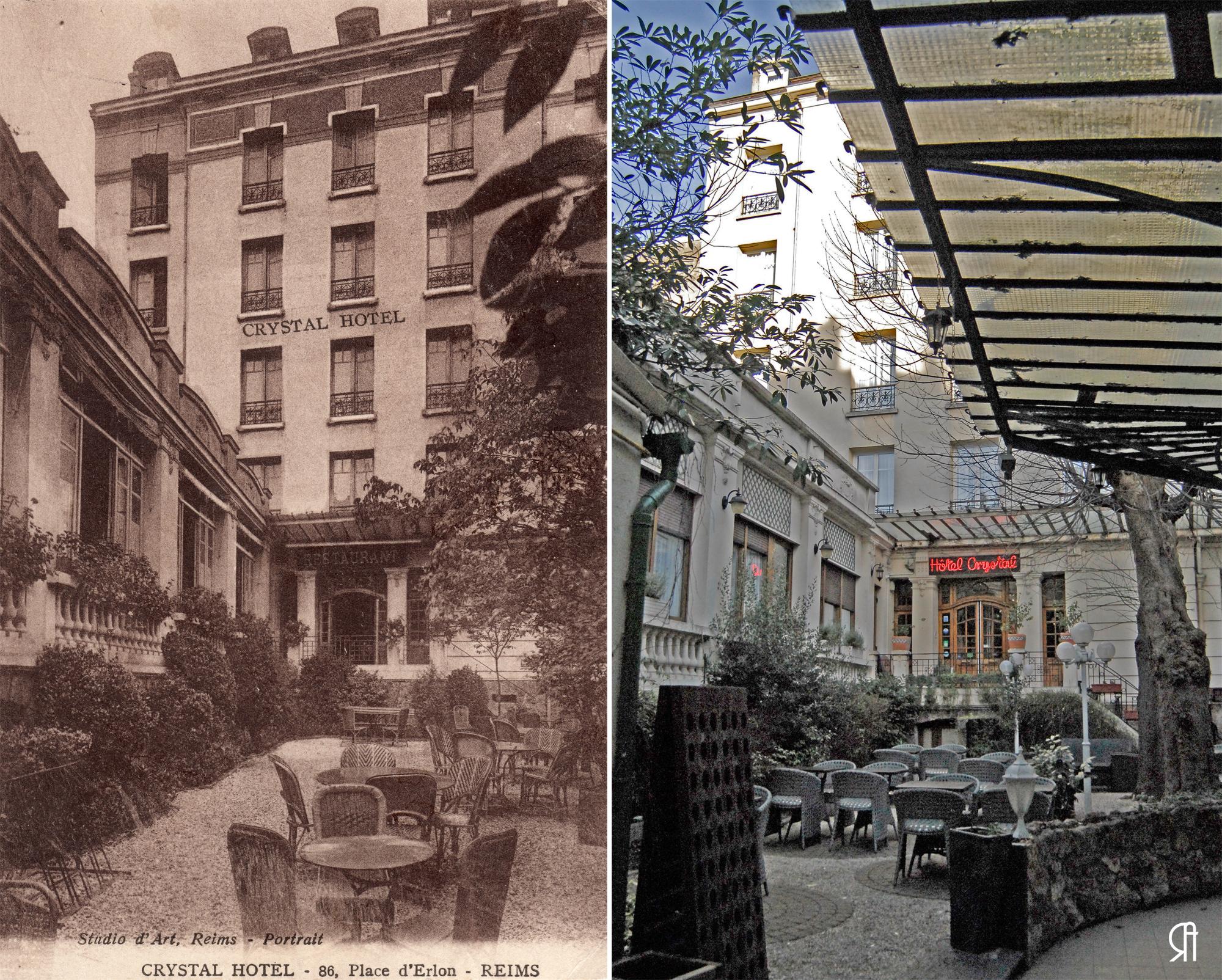 Le Crystal Hôtel, place d'Erlon, deux saisons