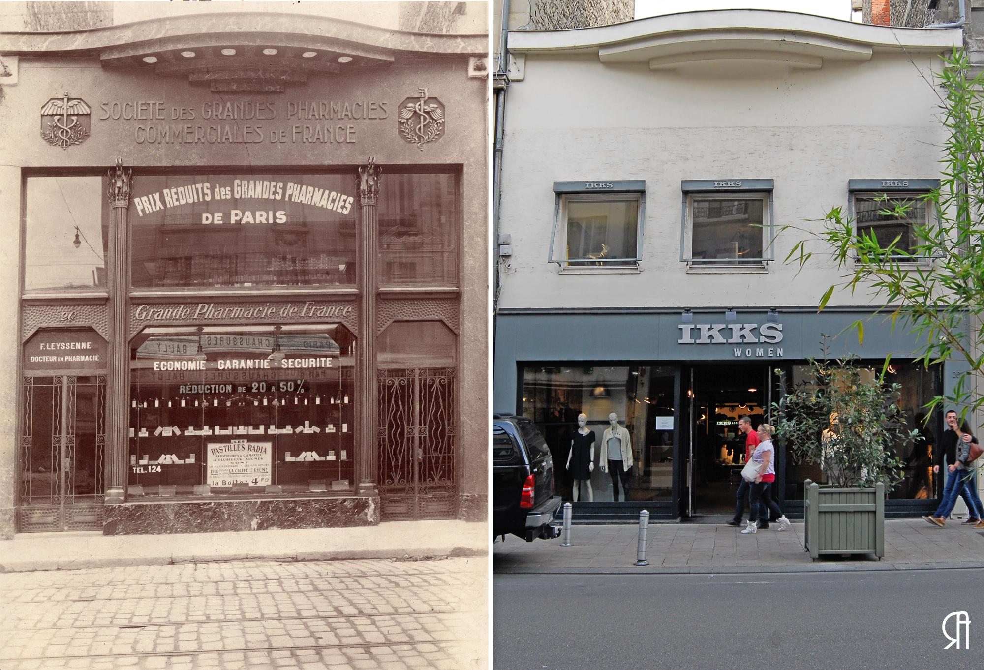 Société des Grandes Pharmacies commerciales de France, 20 rue de Talleyrand