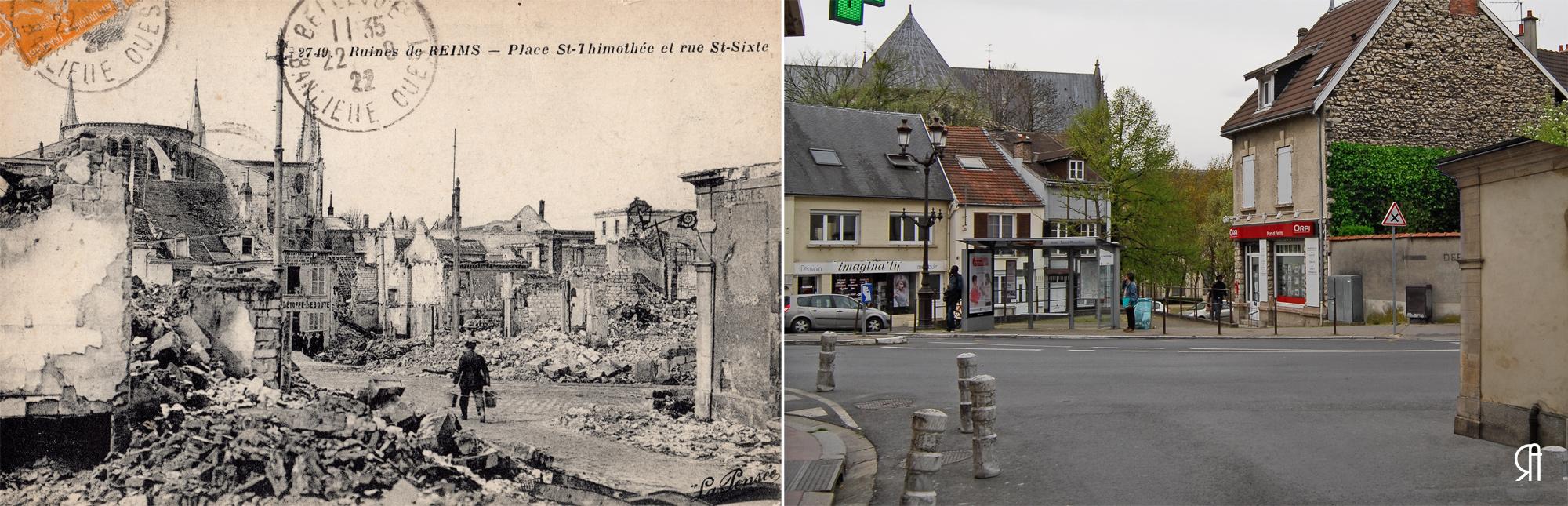 Place Saint-Timothée et rue Saint-Sixte