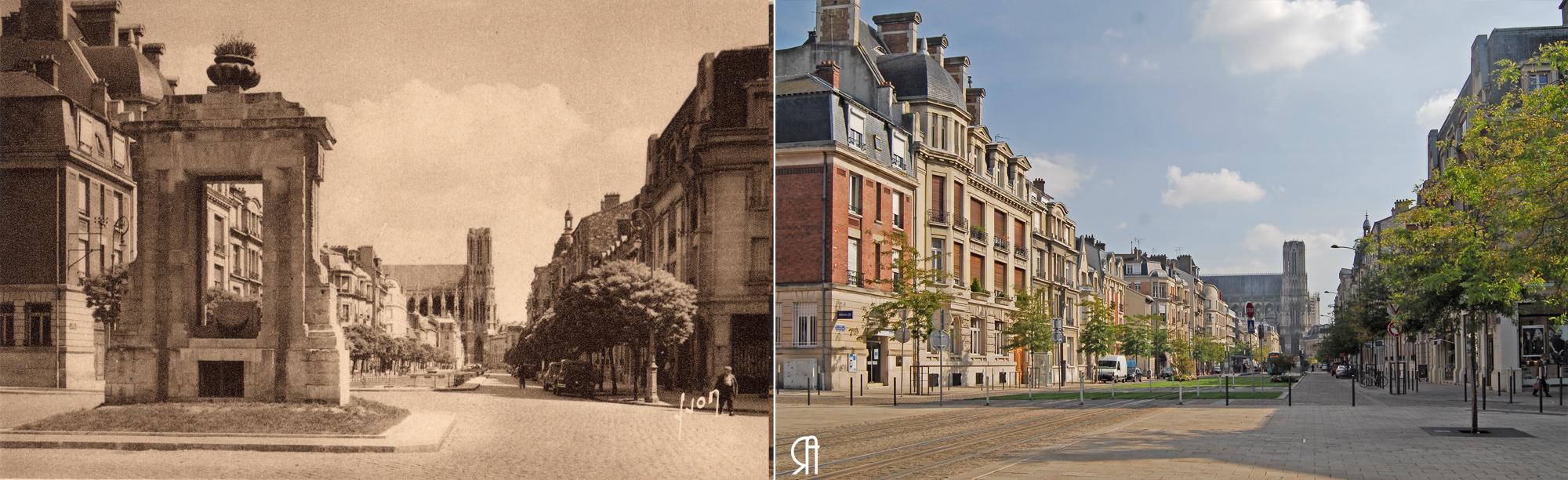 Le Cours Langlet et la fontaine des Boucheries