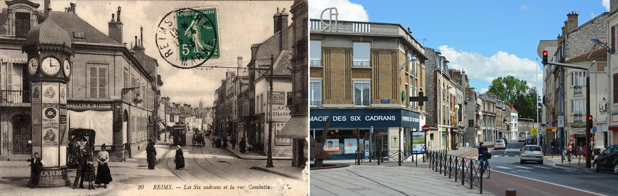 Place des Loges-Coquault - Place des Six-Cadrans
