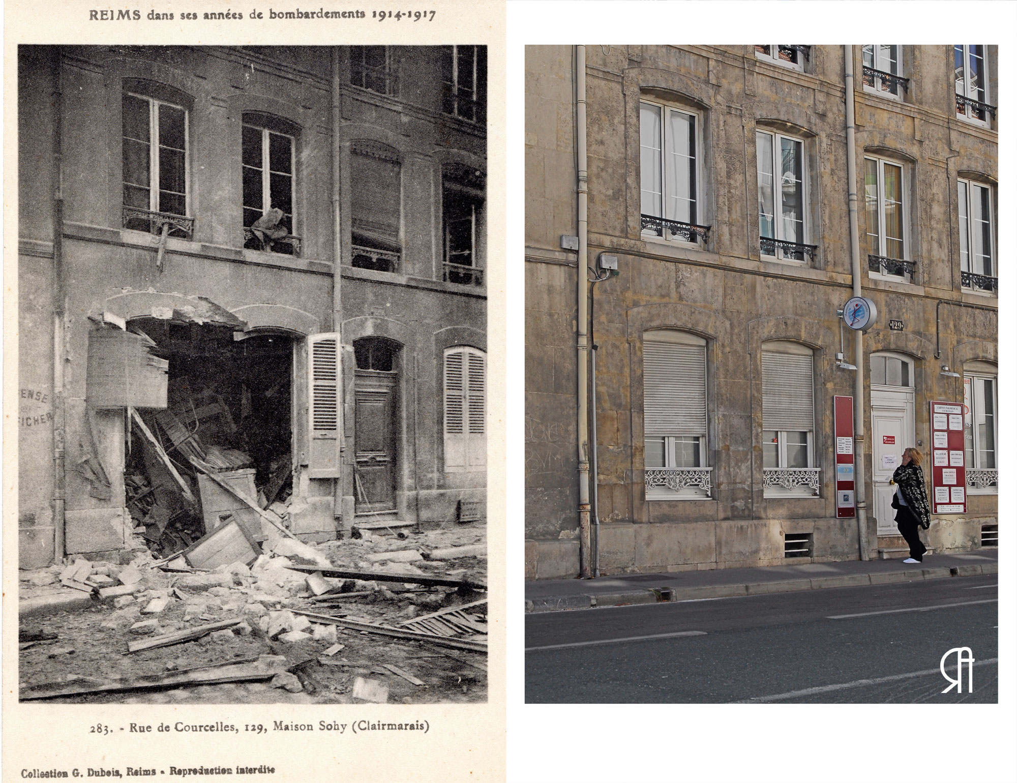 129 rue de Courcelles, Maison Sohy