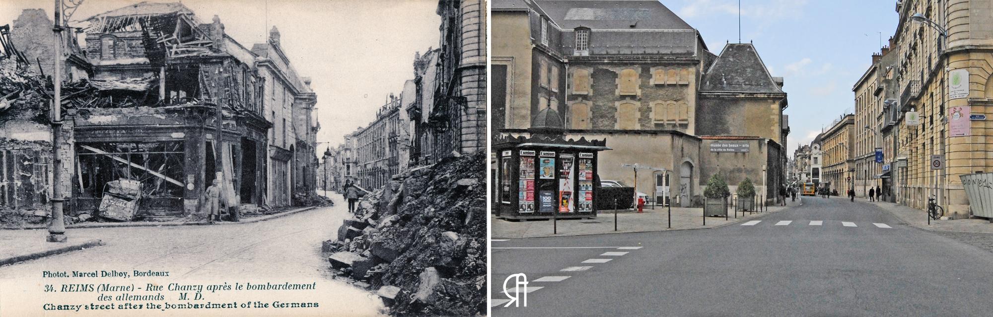 Le Grand Café Saint-Denis à 3 époques...