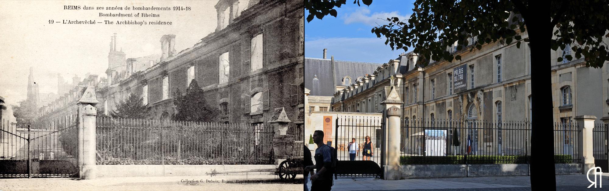 L'Archevêché après la Grande Guerre
