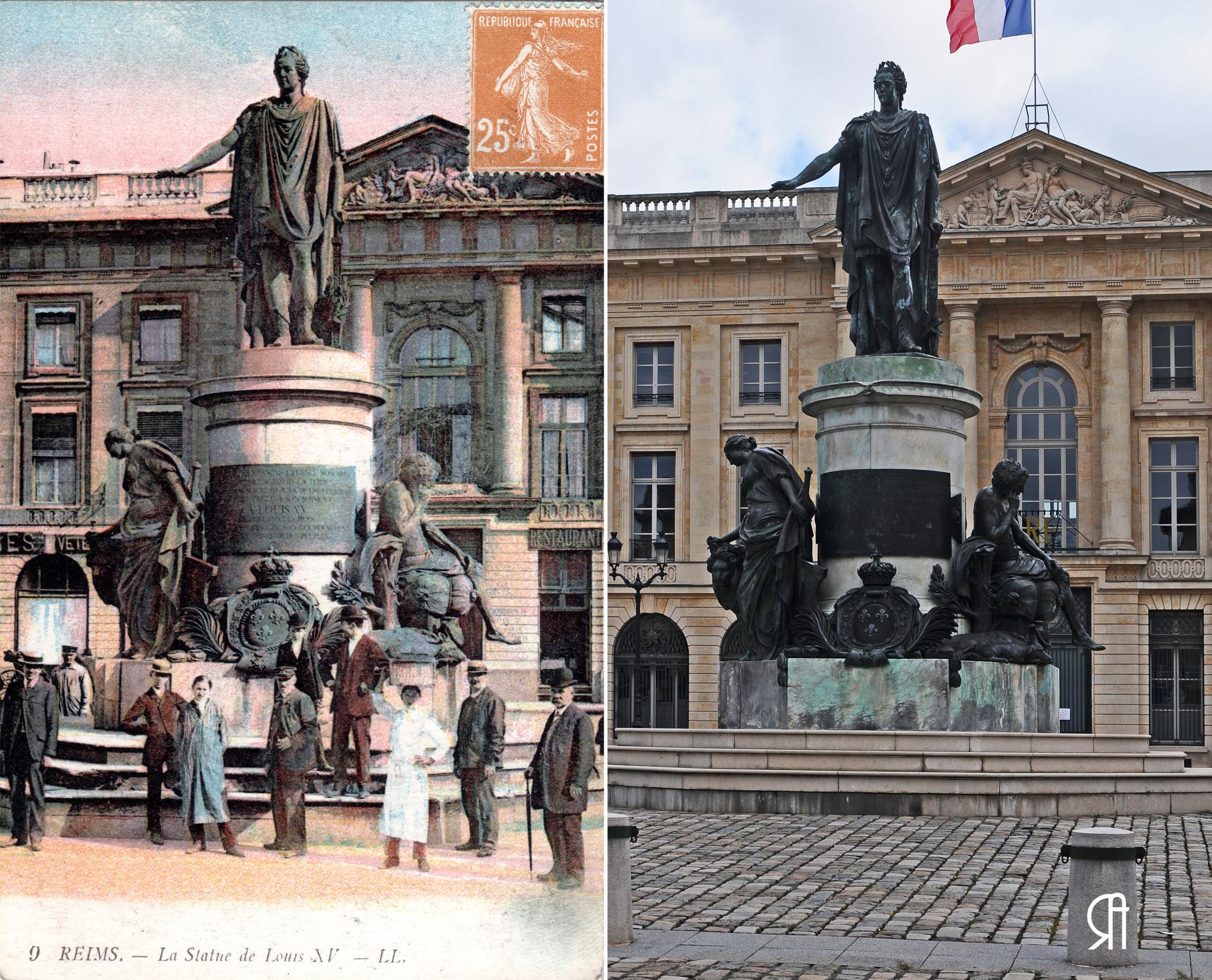 Place Royale, Louis XV