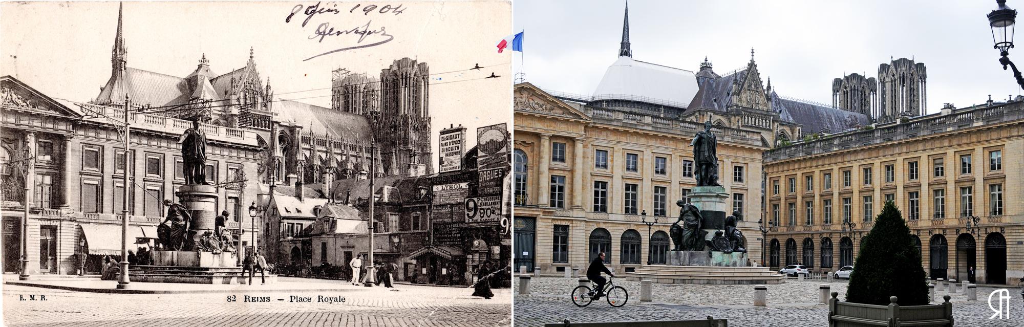 Place Royale vers 1904