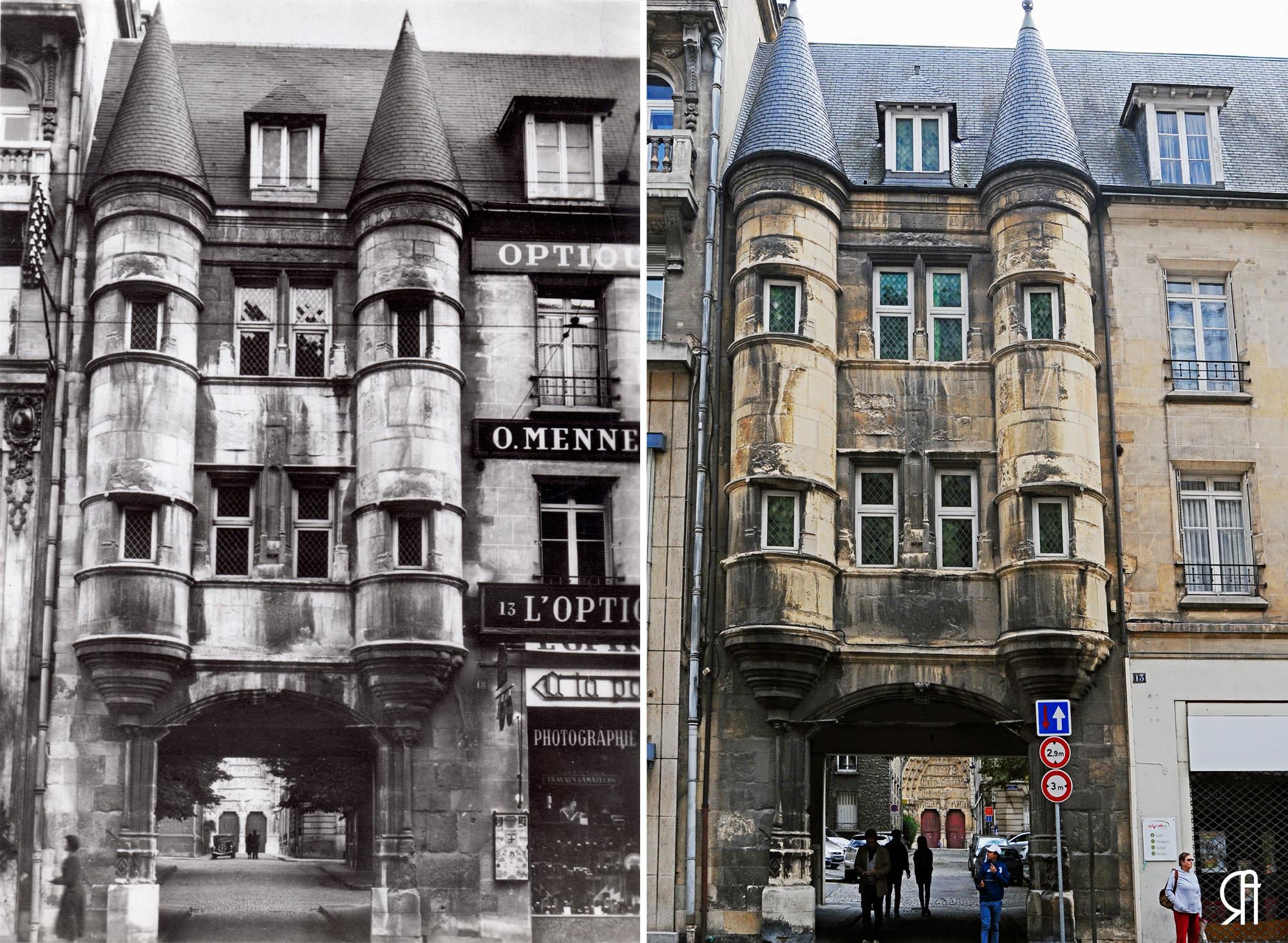 Porte du Chapitre, 3 époques