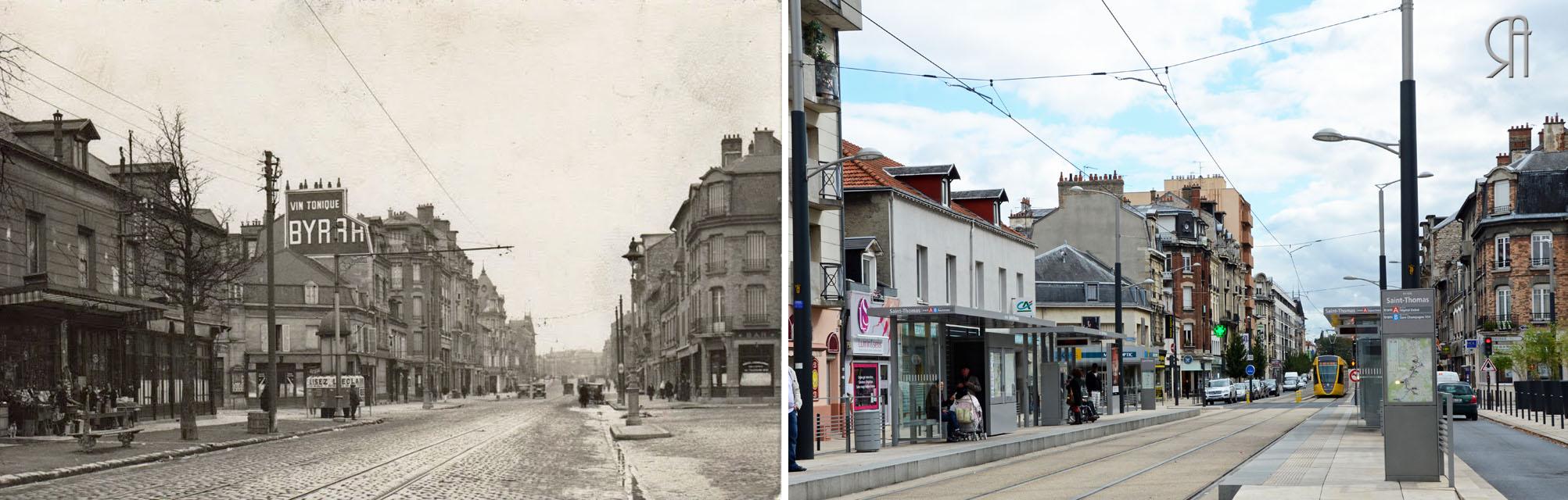L'avenue de Laon à Saint-Thomas