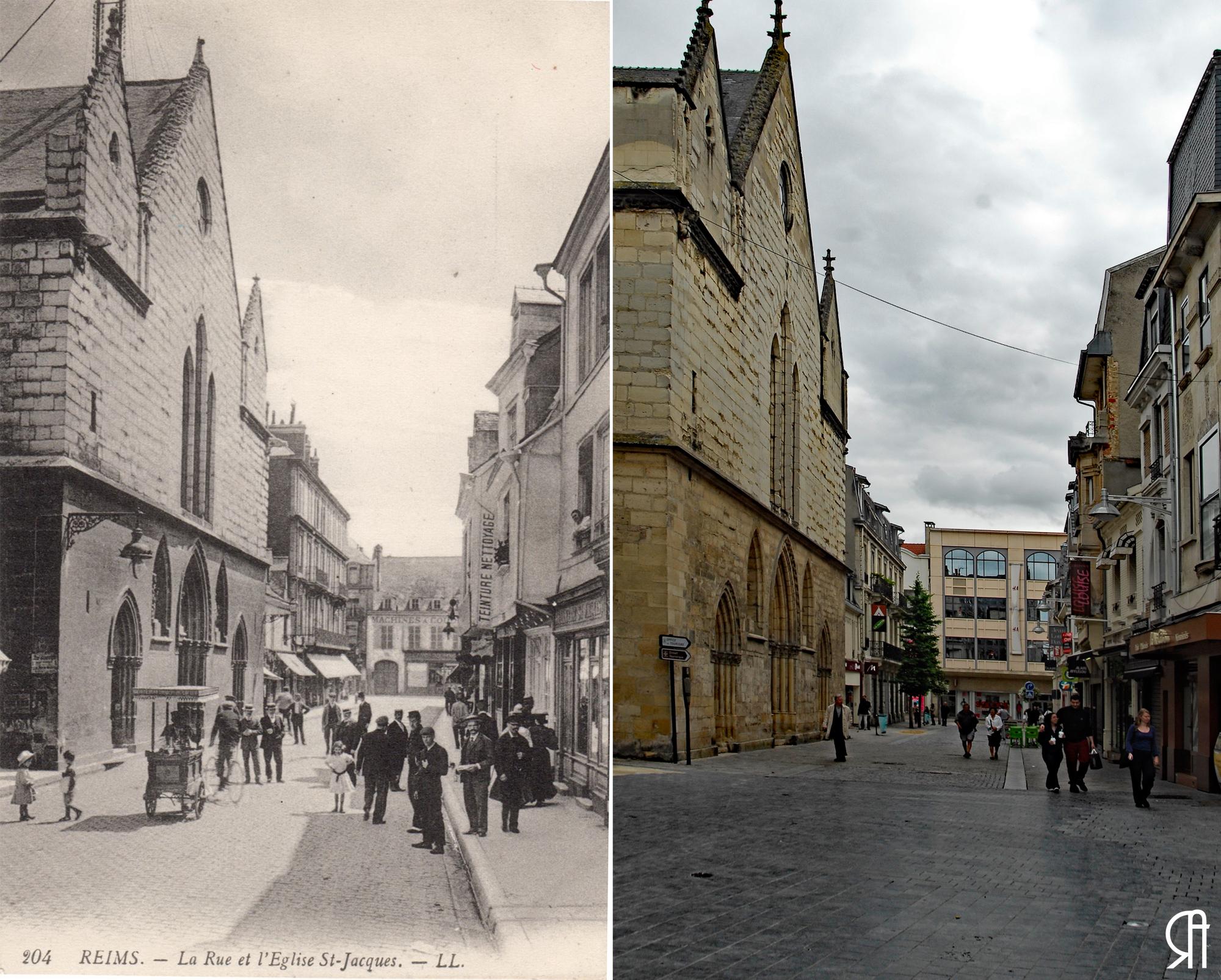 Rue Marx Dormoy, Saint-Jacques, vers la rue de Vesle