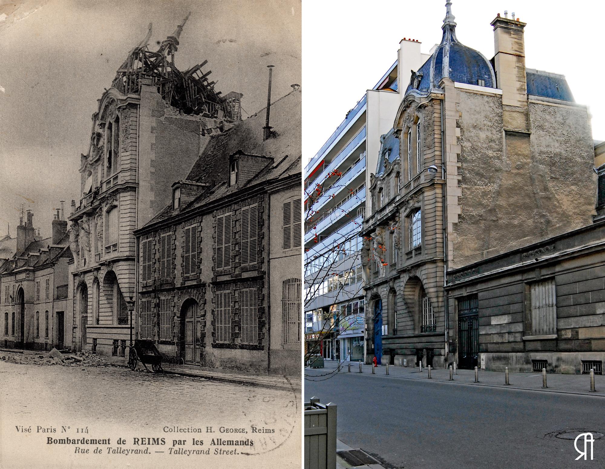 La rue de Talleyrand et l'Hôtel particulier Georget