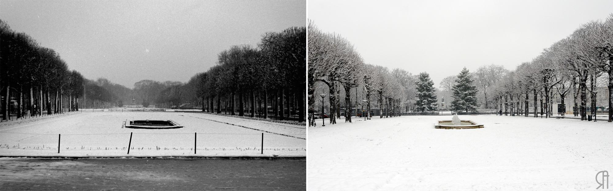 Les Hautes Promenades sous la neige...