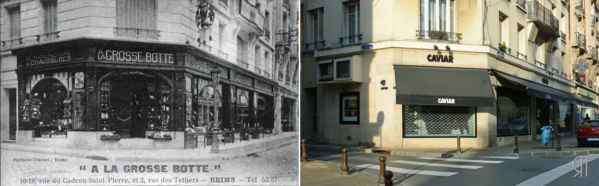 """""""A la Grosse-Botte"""" après la Reconstruction"""