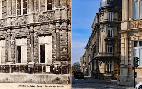 L'Hôtel de Ville et la rue Thiers