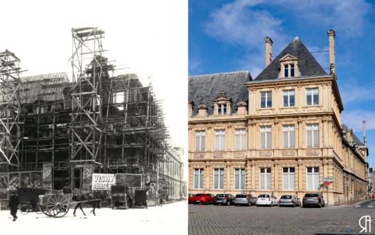 La Reconstruction : l'Hôtel de Ville