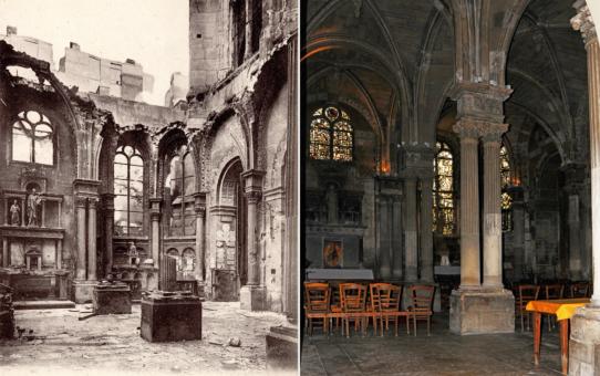 L'intérieur de l'église Saint-Jacques
