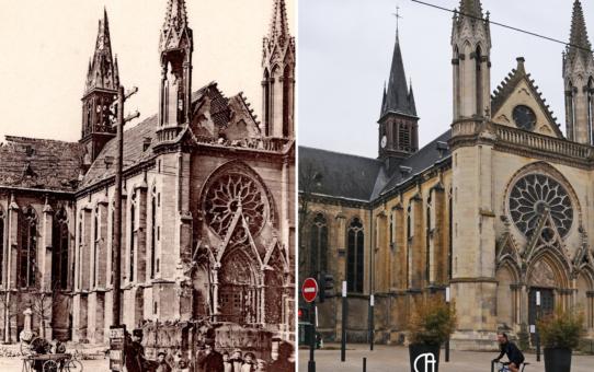 Eglise Saint-Thomas après la Grande Guerre