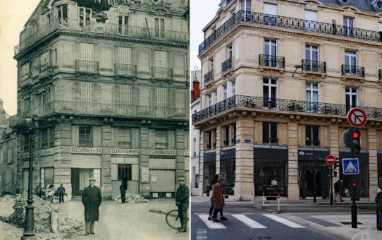Angle de la rue Thiers et de la rue de la Tirelire