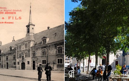 L'église Saint-Maurice et l'Hôpital Général