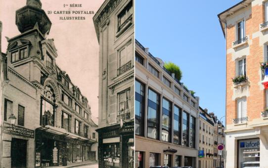 Rue de Pouilly et les Galeries Rémoises