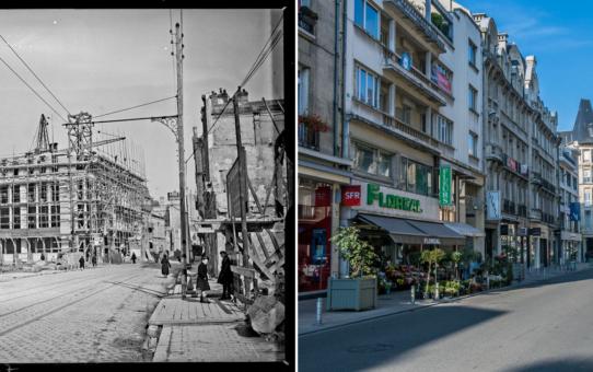 La rue de Talleyrand pendant la Reconstruction