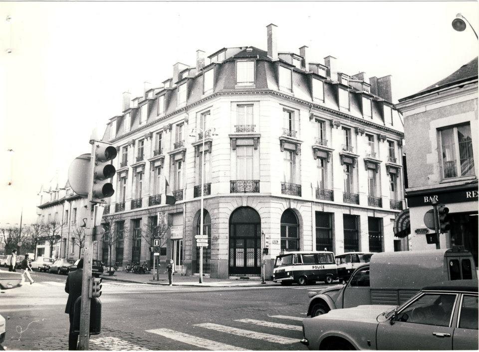 Hôtel de Police, 1979, Photo de Louis Mottié