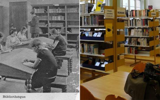 La bibliothèque de la Maison Commune du Chemin Vert