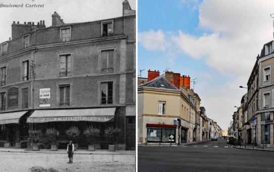 Angle de la rue de Cernay et du boulevard Saint-Marceaux