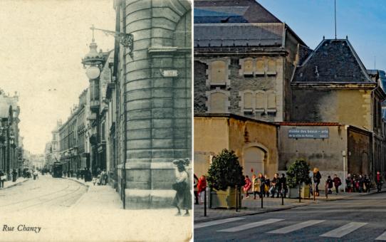 Rue Chanzy et le musée des Beaux-Arts