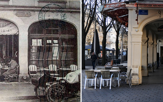 Place d'Erlon, L'Ernest Hemingway l'ancien café des Colonnes