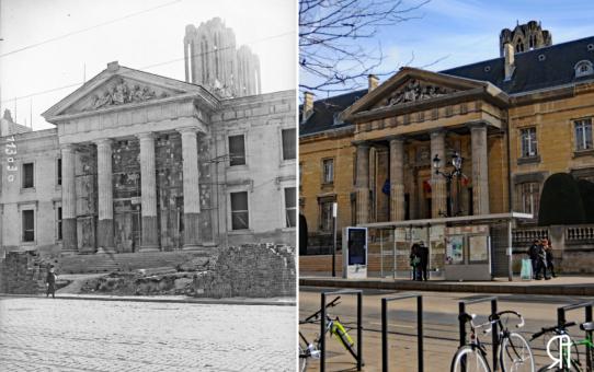 Le Palais de justice : la Reconstruction
