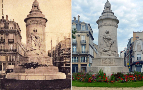 Le Monument à la Mémoire des Infirmières