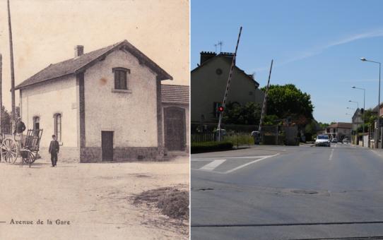 La gare de Saint-Brice-Courcelles
