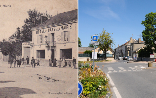 Place de l'Hôtel de Ville, Saint-Brice-Courcelles