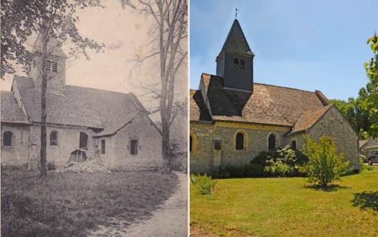 L'Église de Saint-Brice-Courcelles