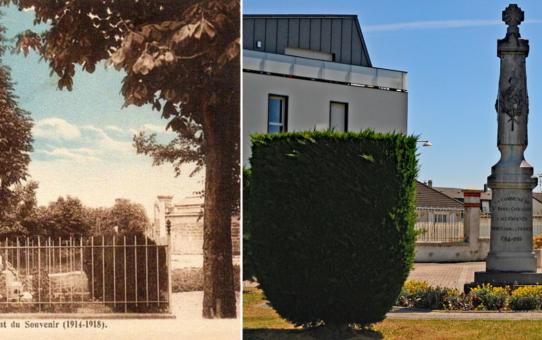 Le Monument aux morts de Saint-Brice-Courcelles