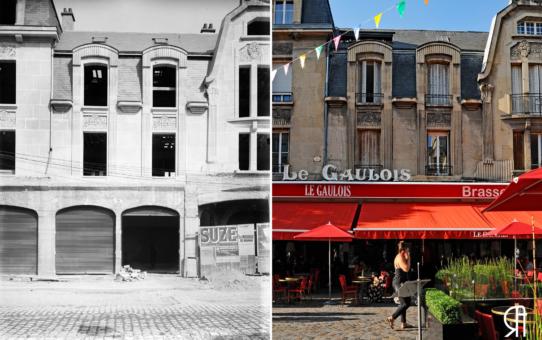 Construction du Gaulois, rue Condorcet après la Grande Guerre
