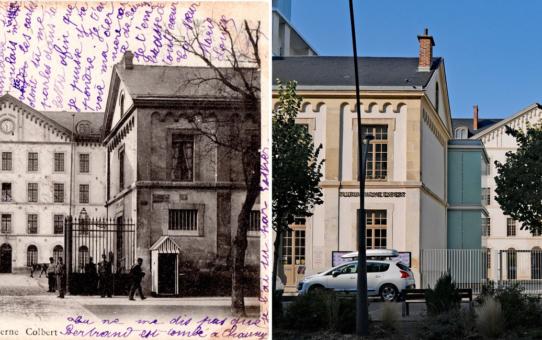 La caserne Colbert au début de XXe siècle