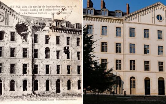 La Caserne Colbert dans les années 1914-18