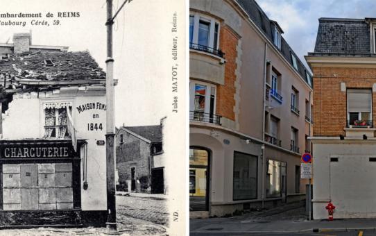 Immeuble du faubourg Cérès, actuelle avenue Jean-Jaurès