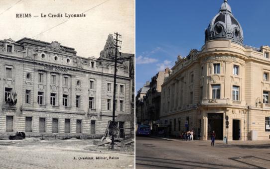 La Reconstruction : le Crédit Lyonnais